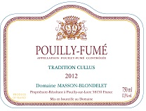 Label Pouilly-Fume Tradition Cullus 2012
