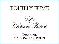 Label Pouilly-Fumé Clos du Château Paladi 2014